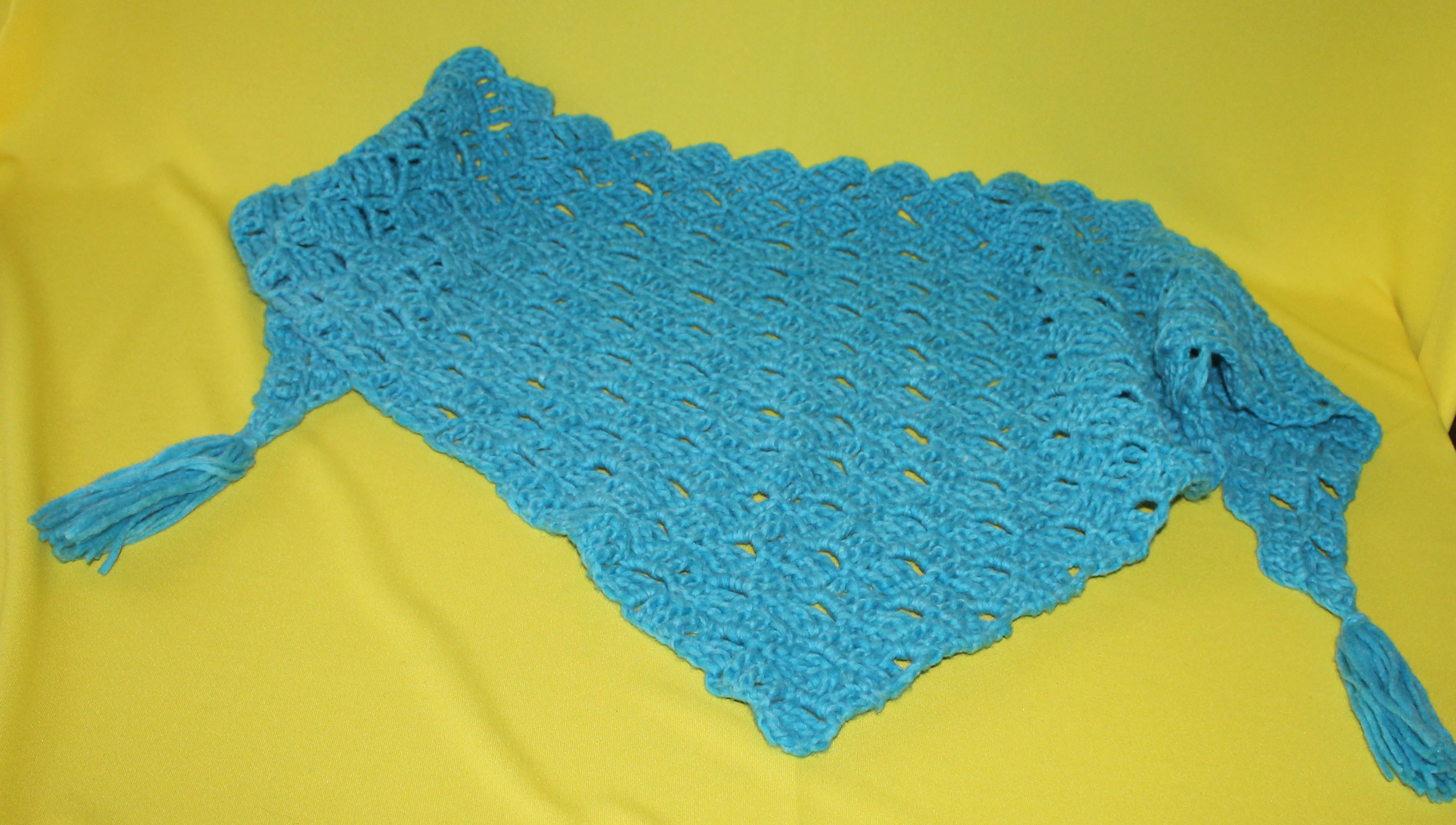 Entrelac Tuch Dundee – STRICKING