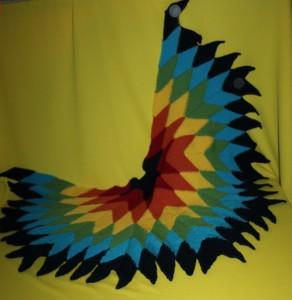 Rautentuch Gypsy Rainbow